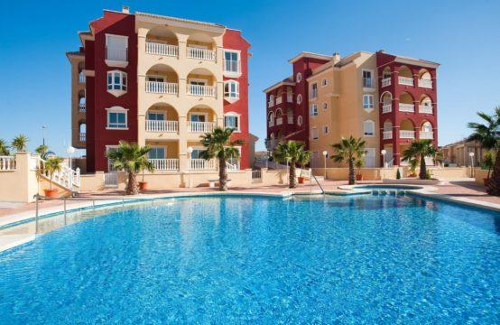 Bel Appartement, 2 chambres, 2 salles de bain,  à Los Alcazares, Espagne