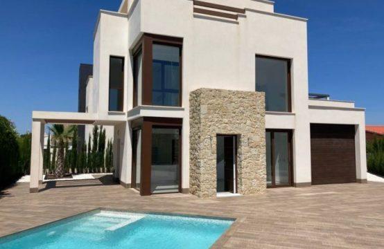 Superbe villa, 3 chambres, 3 salles de bain, à la Manga, Costa Calida, Espagne