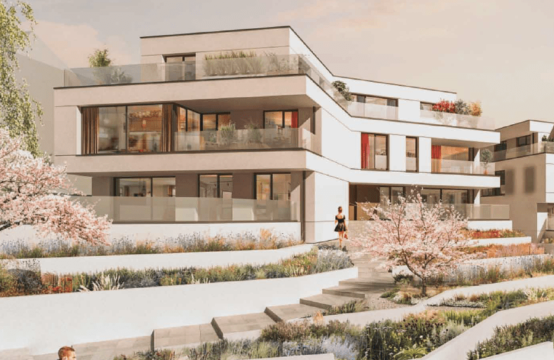 Magnifique appartement, 3 chambres, 3 salles de bain, 2 terrasses, 2 garages, cave à Niederanven